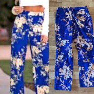 Weekend max mara floral blue pant